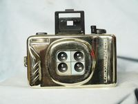 Lomography Gold Coloured Action Camera - Nice- RARE-